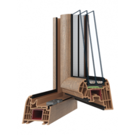Восьмикамерні металопластикові вікна PERFECT 8 Passive, фото 1 , 5515.25грн