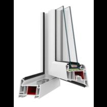 Чотирикамерні металопластикові вікна PERFECT 4 Excellent