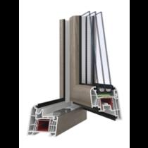 Шестикамерні металопластикові вікна PERFECT 6 Tytanium