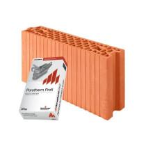 Керамічні блоки Porotherm 8 Profi
