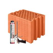 Керамічні блоки Porotherm 25 Dryfix