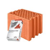Керамічні блоки Porotherm 25 Profi