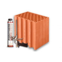 Керамічні блоки Porotherm 30 Dryfix