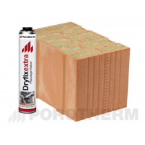 Керамічні блоки Porotherm 38 T Dryfix