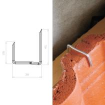 Кріплення для цементно-піщаної черепиці тип U MDM