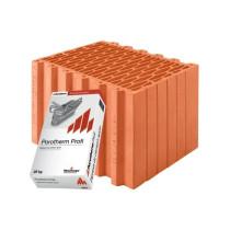 Керамические блоки Porotherm 38 Profi