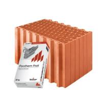 Керамические блоки Porotherm 44 Profi