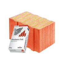 Керамические блоки Porotherm 44 T Profi