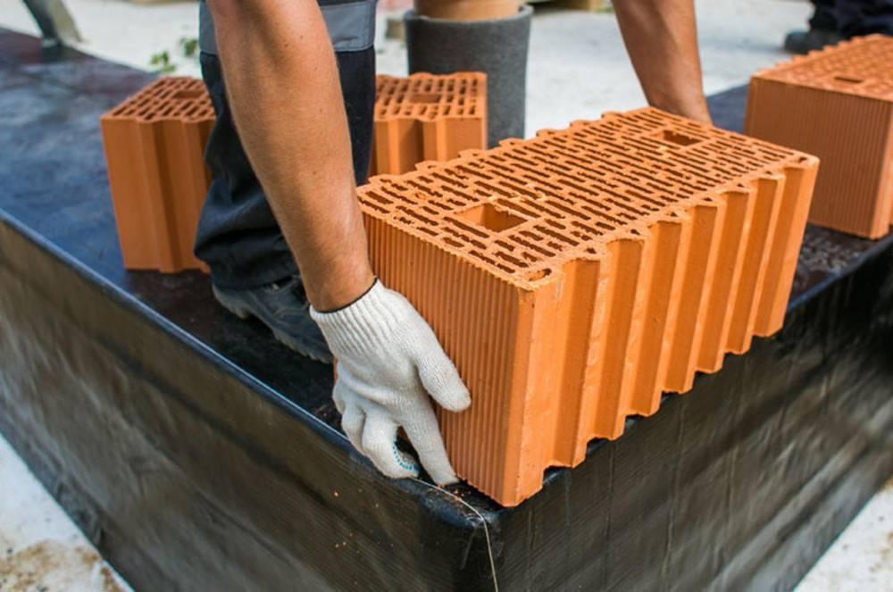 Будівництво будинків з керамічних блоків фото 1